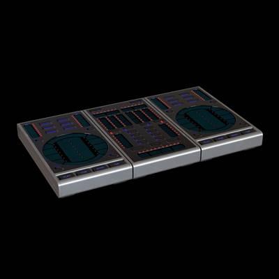 打碟机3D模型【ID:615259463】