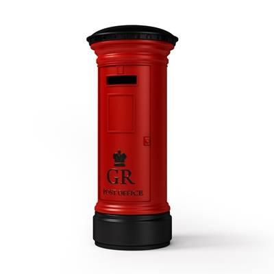 红色邮箱3D模型【ID:615262814】