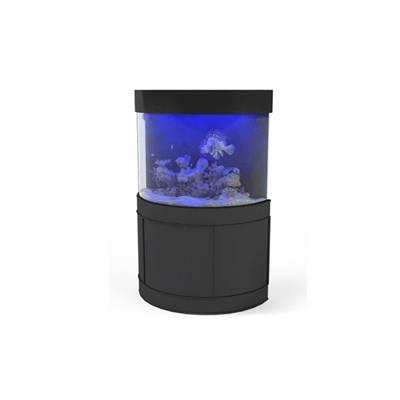 黑色玻璃鱼缸3D模型【ID:615272727】