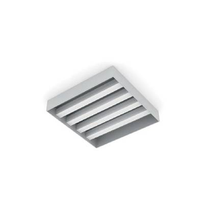 现代白模金属格栅灯3D模型【ID:615430430】