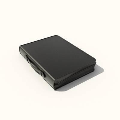 黑色皮质手提包3D模型【ID:615431112】