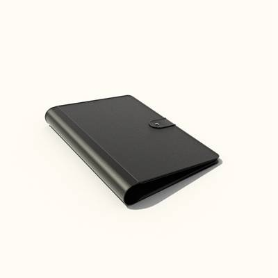 黑色皮质钱包3D模型【ID:615431208】