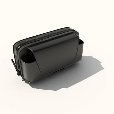 黑色皮质钱包3D模型【ID:615432293】