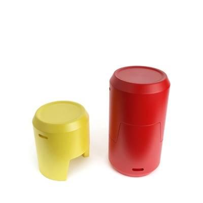 金属储物罐3D模型【ID:615433411】