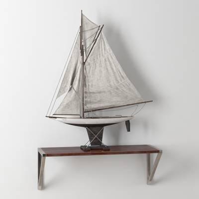 米色木艺工艺品3D模型【ID:615455633】