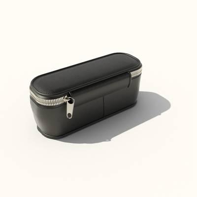 黑色皮质钱包3D模型【ID:615459255】