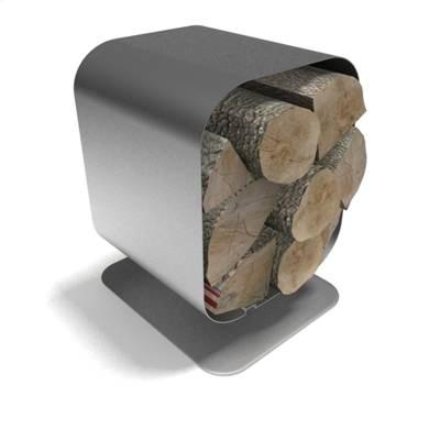 银色木柴堆23D模型【ID:615474586】
