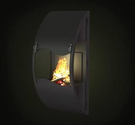 铁艺壁炉23D模型【ID:616923788】