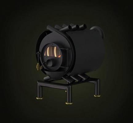 铁艺壁炉43D模型【ID:616924742】