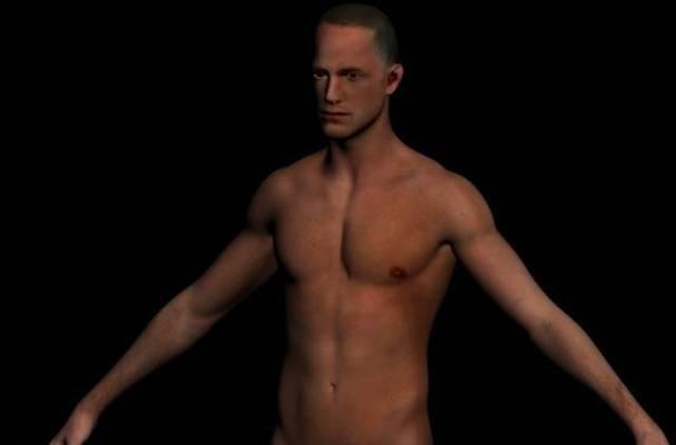 男人13D模型【ID:616938494】