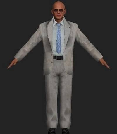 男人43D模型【ID:616938499】