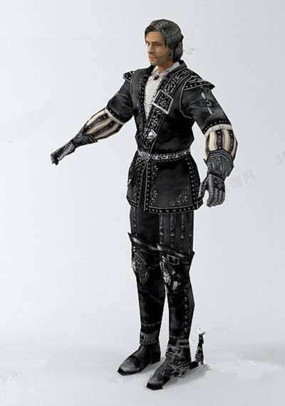 男人73D模型【ID:616939409】