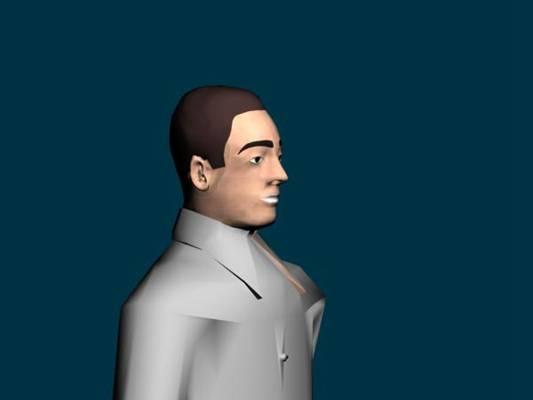 男人113D模型【ID:616939416】