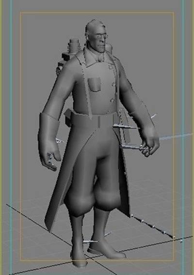 男人173D模型【ID:616939427】