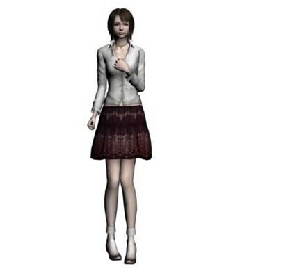 女人183D模型【ID:616940500】