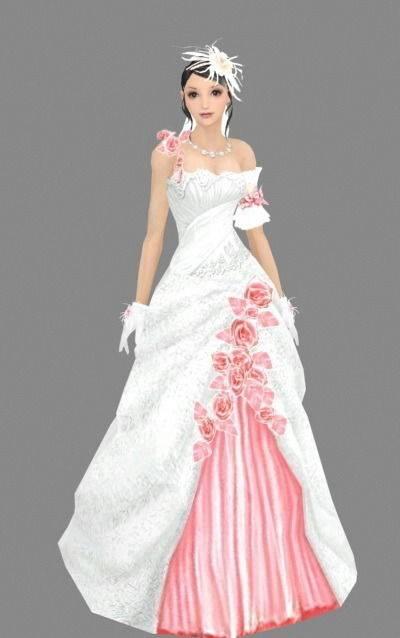 女人313D模型【ID:616940533】