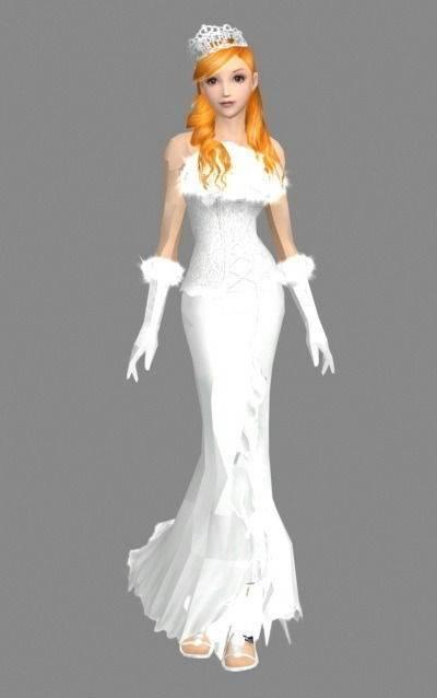 女人323D模型【ID:616940534】