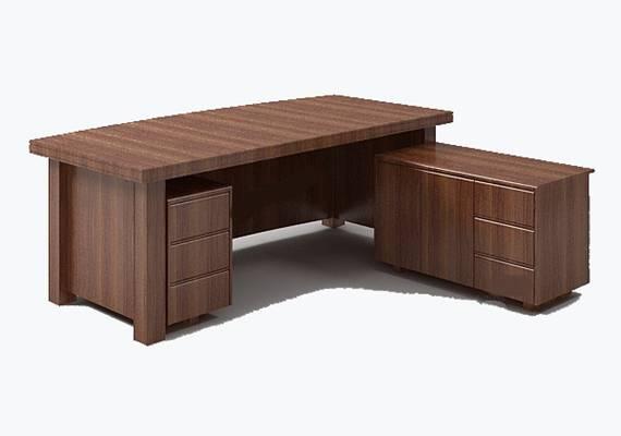 办公桌133D模型【ID:616969621】