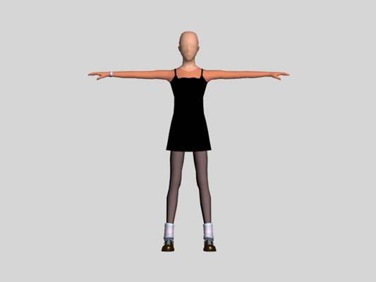 女人33D模型【ID:617122582】