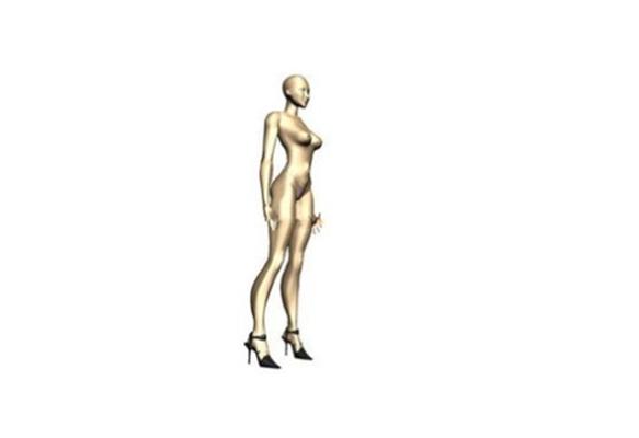 女人43D模型【ID:617122584】