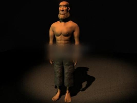 男人13D模型【ID:617139409】