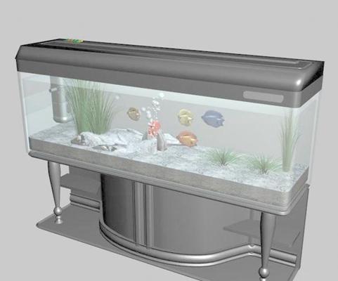 鱼缸23D模型【ID:617141752】