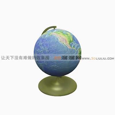 地球仪23D模型【ID:617200094】