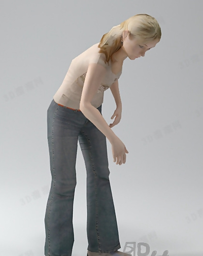 女人43D模型【ID:617250561】