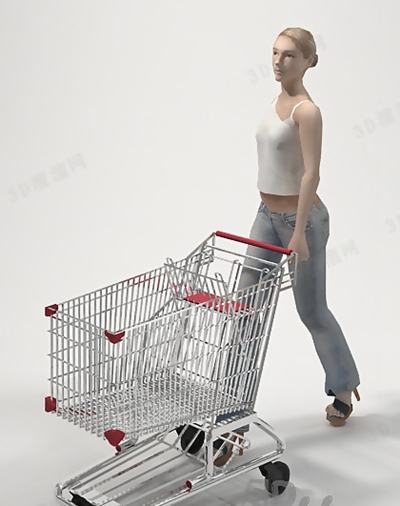 女人53D模型【ID:617250562】