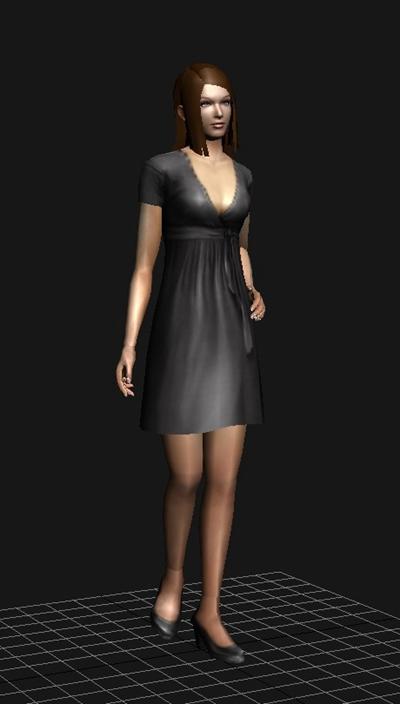 女人13D模型【ID:617259556】