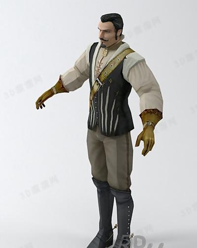 男人23D模型【ID:617264451】