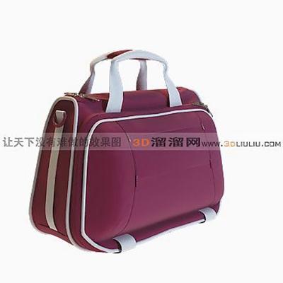 手提包43D模型【ID:617288165】