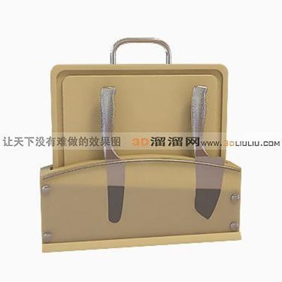 手提包73D模型【ID:617288176】