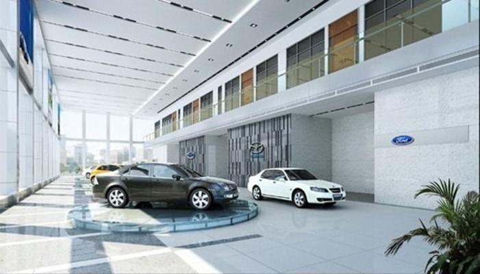 汽车展厅13D模型【ID:617341966】