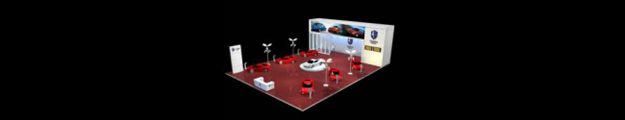 汽车展厅33D模型【ID:617341989】