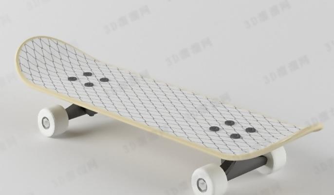 滑板13D模型【ID:617371202】