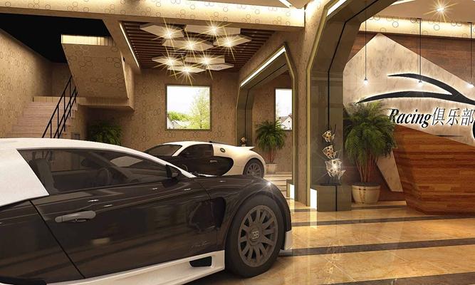 现代汽车展厅3D模型【ID:617472974】