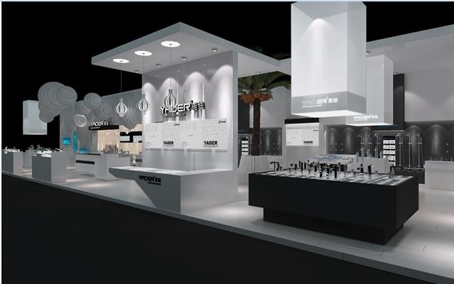 现代卫浴展厅3D模型【ID:617513114】