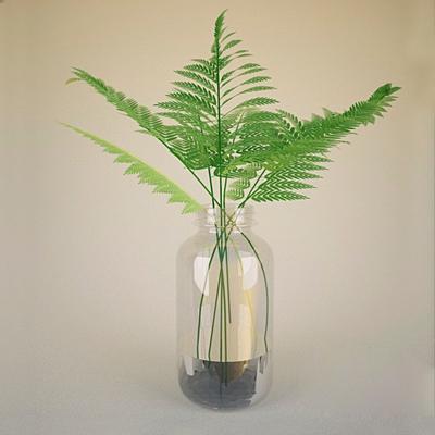 透明玻璃花瓶3D模型【ID:617561891】