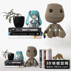 玩具手办模型组合国外3D模型【ID:929317826】