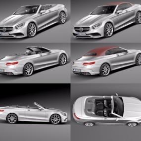 现代奔驰汽车3D模型【ID:327791135】