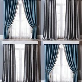 现代窗帘组合3D快三追号倍投计划表【ID:234830626】