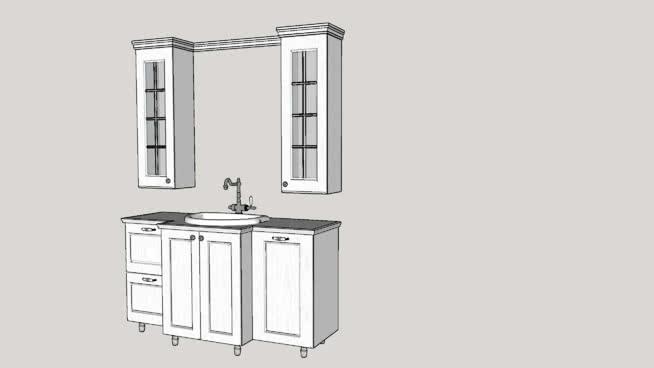 Wash-basin,sanitarySU模型【ID:838044785】
