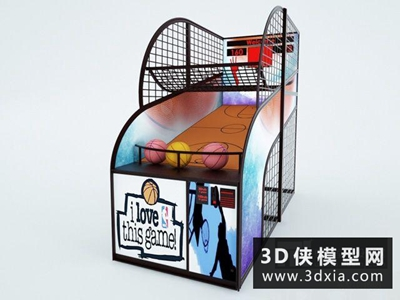 投篮机国外3D模型【ID:229652168】