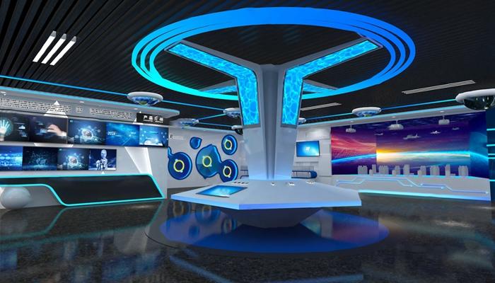 现代展厅3D模型【ID:724880502】