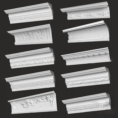 欧式角线3D模型【ID:620608055】