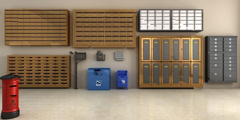现代储物柜3D模型【ID:124896338】
