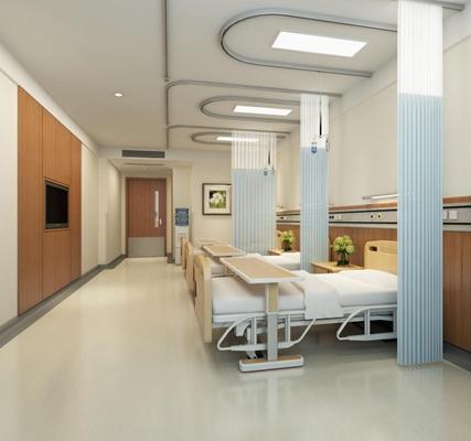 醫院病房3D模型【ID:427940156】