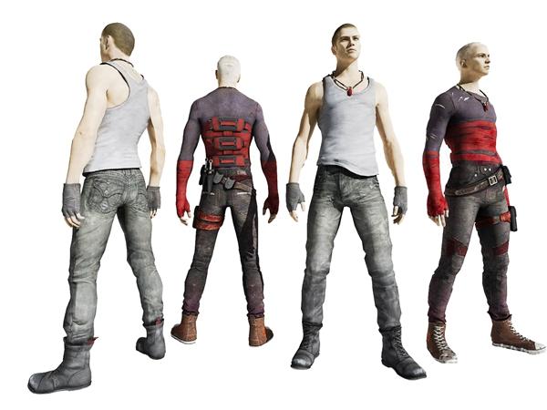 現代人物3D模型【ID:346257078】