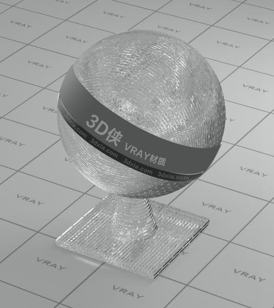 装饰玻璃Vray材质【ID:736451513】